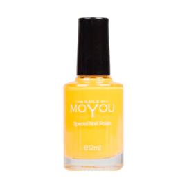 Moyou Nail Fashion - Stamping Polish - 37.  Yellow