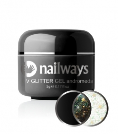 Nailways - NWUVGL01 - UV GLITTER GEL - Andromeda