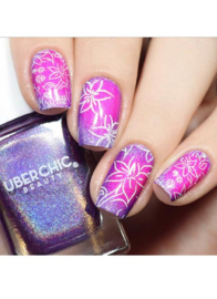 UberChic Beauty - Nail Art Stamping Plates – Collection 29