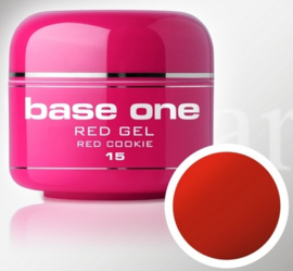Base One - UV RED GEL - 15. Red Cookie