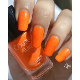 Colour Alike -  Nail Polish - Neon goes Holo - 613. FANTAstick