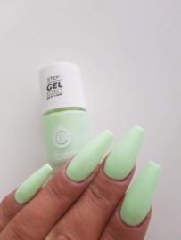 CF Gel Effekt Nagellak - Step 1 - 509. Pastel Green
