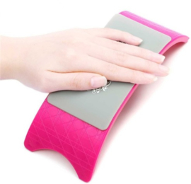Arm & Hand Steun - Silconen Hot Pink