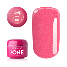 Base One - UV COLOR GEL - Neon - 28. Baby Pink