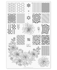 UberChic Beauty - Nail Art Stamping Plates – Collection 17