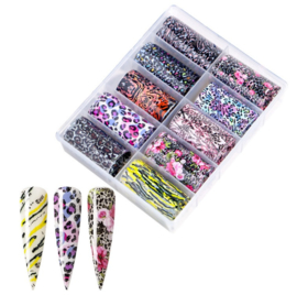 Nailways - Transfer Nail Foil - Collection 10