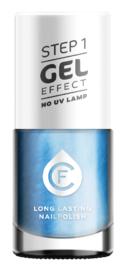 CF Gel Effekt Nagellak - Step 1 - 409. Blue Mother-of-Pearl