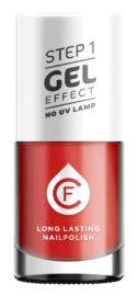 CF Gel Effekt Nagellak - Step 1 - 237. Red