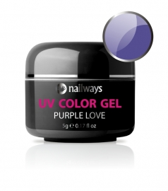 Nailways - NWUVC32 - UV COLOR GEL - Purple Love