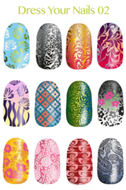 Lina - Stamping Plate - Dress Your Nails - 02