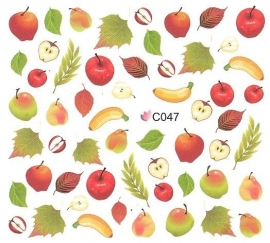 Waterdecals - Fruits & Leaves