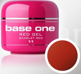Base One - UV RED GEL - 11. Scarlet Red