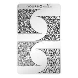 Yours Cosmetics - Stamping Plates - :YOURS Loves Tracy Lee - YLT04. Off the Cuff