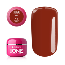 Base One - UV RED GEL - 16. Coffee Red