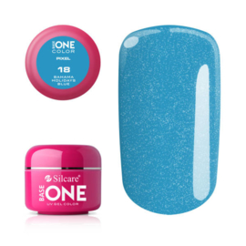 Base One - UV COLOR GEL - Pixel - 18. Bahama Holidays Blue