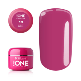 Base One - UV COLOR GEL - 13. Light Berry