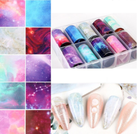 Nailways - Transfer Nail Foil - Collection 2