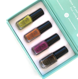 Clear Jelly Stamper - Stamping Polish Kit - Harvest (4 Colours)