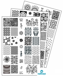 UberChic Beauty Nail Art Stamping Plates – Collection 13