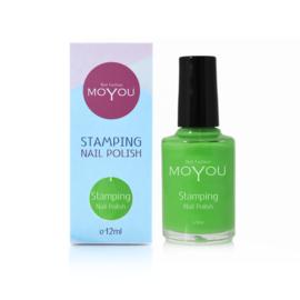 Moyou Nail Fashion - Stamping Polish - 40. Atlantic Green