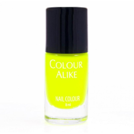Colour Alike -  Nail Polish - Neon goes Plastic - 606. Yellow Flash
