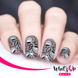 Whats Up Nails - Stamping Plate - B020 Take Me To The Sea