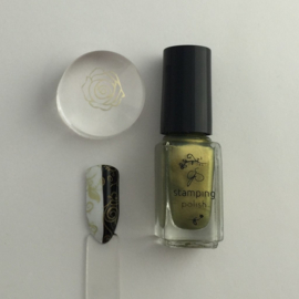 Clear Jelly Stamper Polish - #26 New Life
