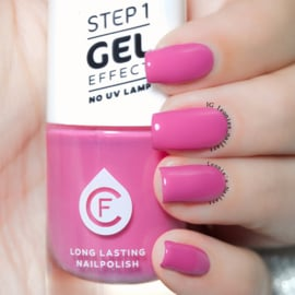 CF Gel Effekt Nagellak - Step 1 - 224. Power Pink