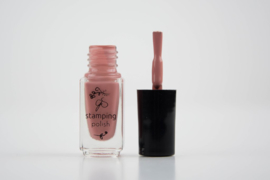 Clear Jelly Stamper Polish - #75 Everything's Rosy