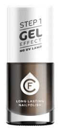 CF Gel Effekt Nagellak - Step 1 - 603. Blue-Black