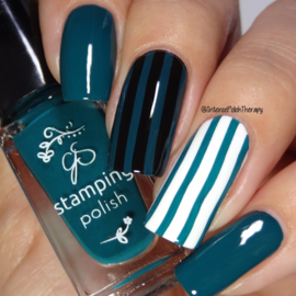 Clear Jelly Stamper Polish - #39 Teal or no Deal
