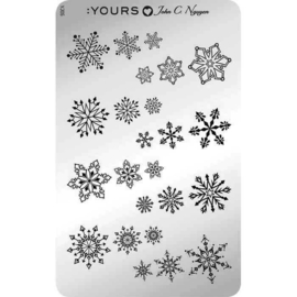 Yours Cosmetics - Stamping Plates - :YOURS Loves John - YLJ05 Winter Knits