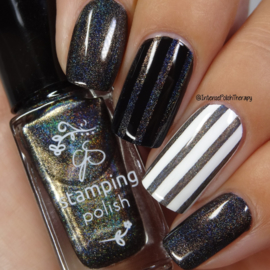 Clear Jelly Stamper Polish - Holo 06