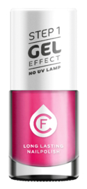 CF Gel Effekt Nagellak - Step 1 - 324. Fuchsia Mother-of-Pearl