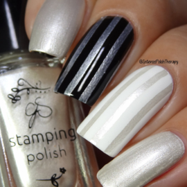 Clear Jelly Stamper Polish - #34 Angelic White