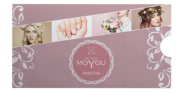 Moyou Nail Fashion - XL Stamping Plate - Bridal Collection - 1