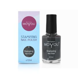 Moyou Nail Fashion - Stamping Polish - 07. Down Grey