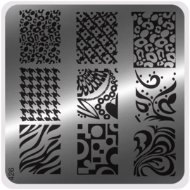 Moyou Nail Fashion - Stamping Plate - Glam Style - 426