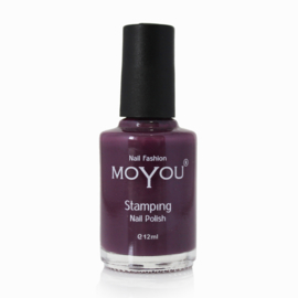 Moyou Nail Fashion - Stamping Polish - 16. Purple Rain