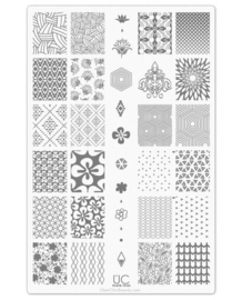 UberChic Beauty Nail Art Stamping Plates – Collection 14