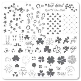 Clear Jelly Stamper - Medium Stamping Plate - CJS_H50 - Feeling Lucky?