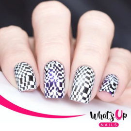 Whats Up Nails - Stamping Plate - B016 Hypnotic Illusions