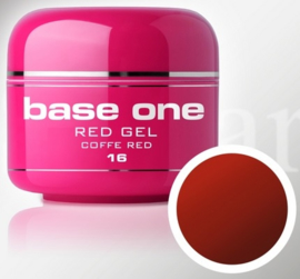 Base One - UV RED GEL - 16. Coffee Red