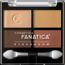 Fanatica - Quattro Eyeshadow - Browns