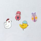 Clear Jelly Stamper - Stamping Plate - CJS_H08 - Easter 3