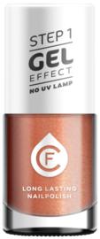CF Gel Effekt Nagellak - Step 1 - 221. Sparkle Old Pink