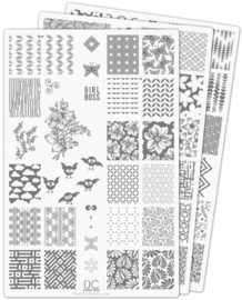 UberChic Beauty -Nail Art Stamping Plates – Collection 15