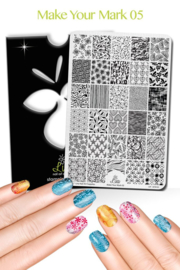 Lina - Stamping Plate - Make Your Mark - 05