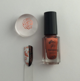 Clear Jelly Stamper Polish - #28 Pretty Penny