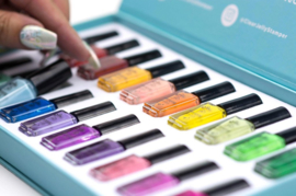 Clear Jelly Stamper - Stamping Polish Kit - Layering (20 Colours)